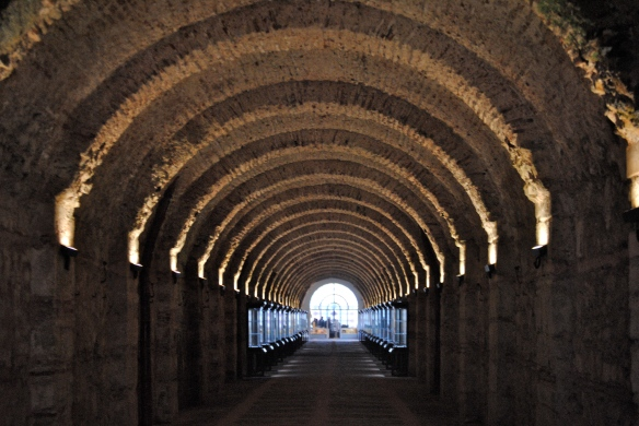 The tunnel to the Palace.