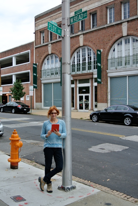 Reading on Read Street.