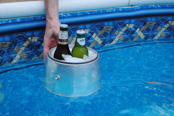 If you're trying to experiment with whether or not an old ice bucket will float, you definitely need a new project.