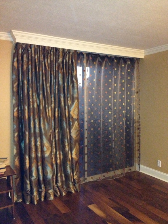 Drapes and sheers.