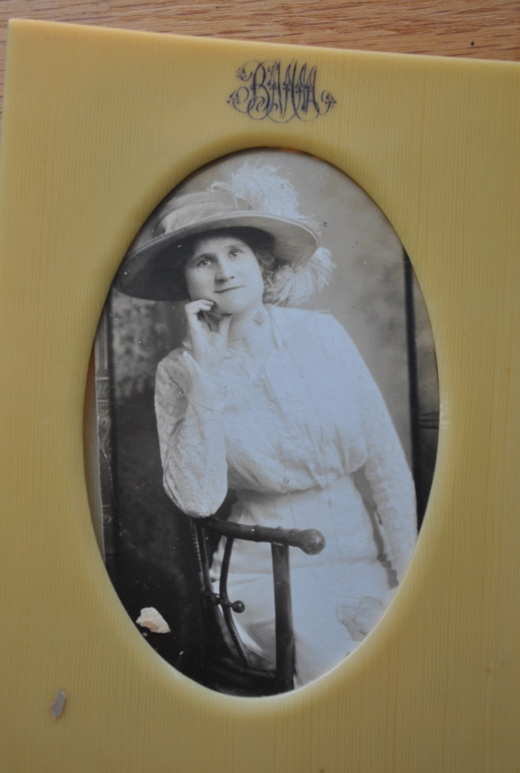 My great grandmother, Etta Blanche Miles Morarity, to my knowledge the original owner of the etagere.