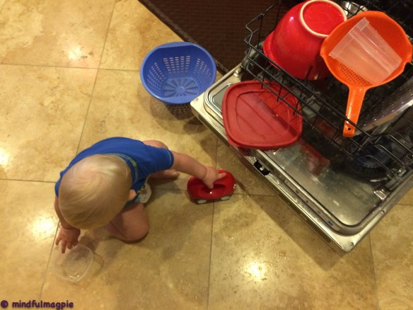 Not to mention the help with the dishwasher!